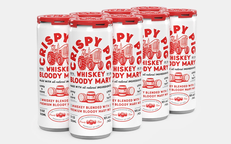 Crispy Pig Whiskey Bloody Mary
