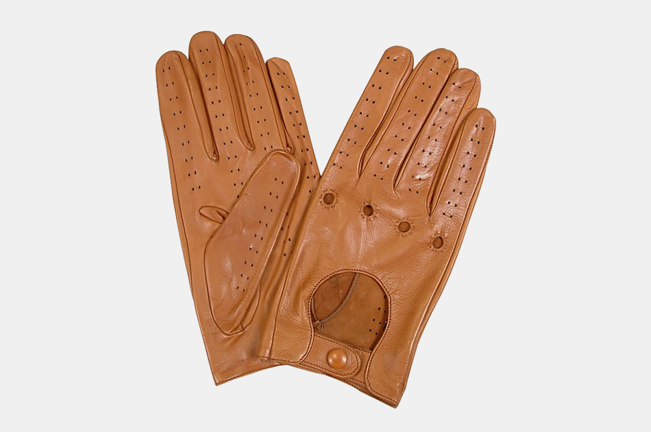 Forzieri Italian Leather Driving Gloves