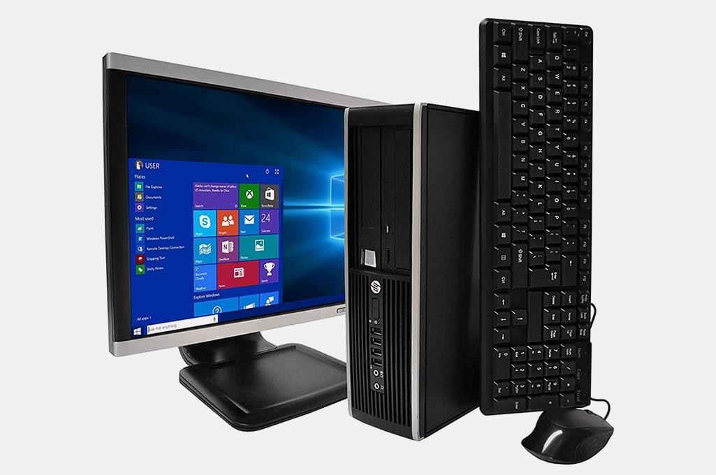 HP Elite Renewed Desktop PC