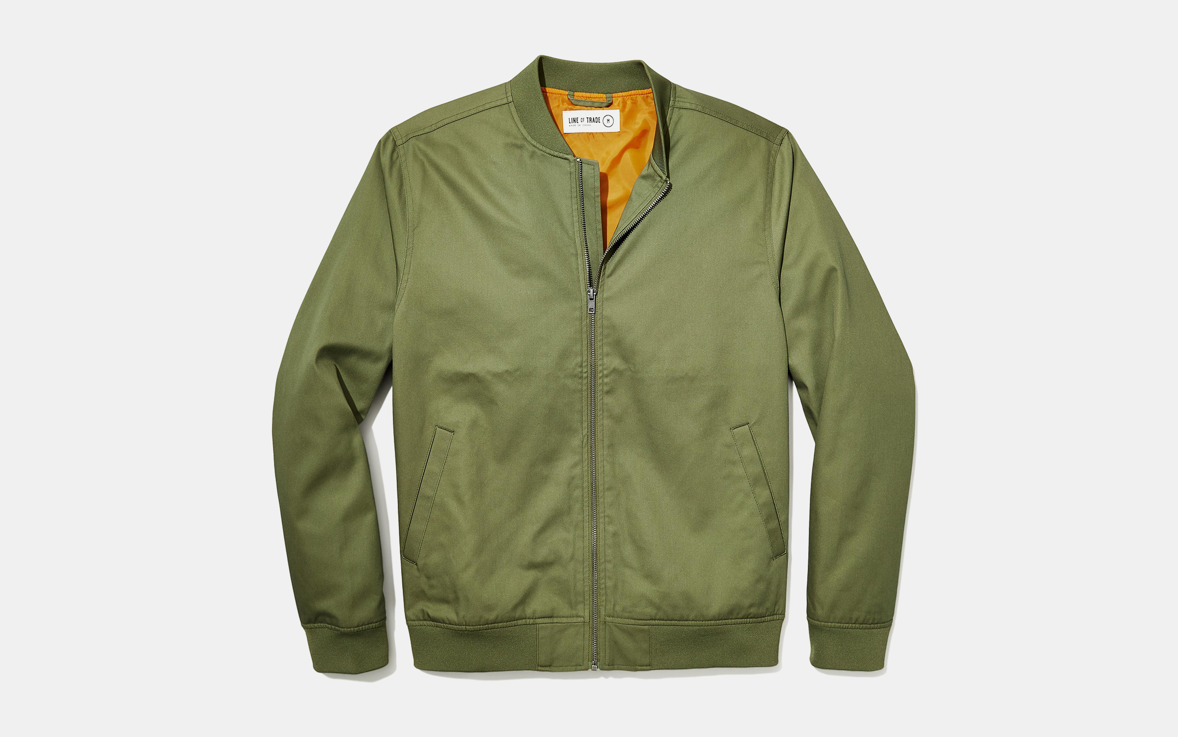 Line Of Trade Standard Issue Bomber Jacket