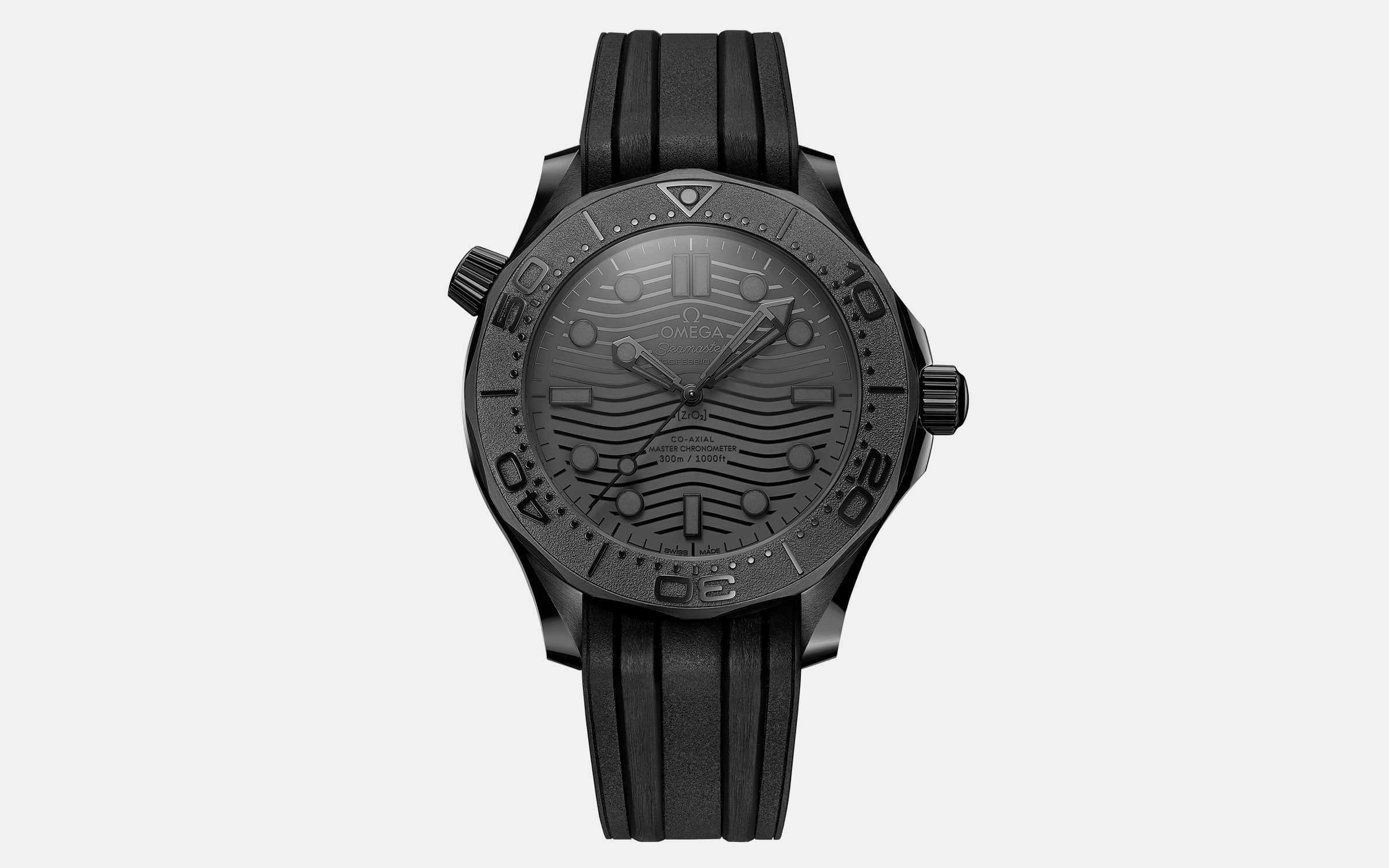 Omega Seamaster 300M Black Black Watch