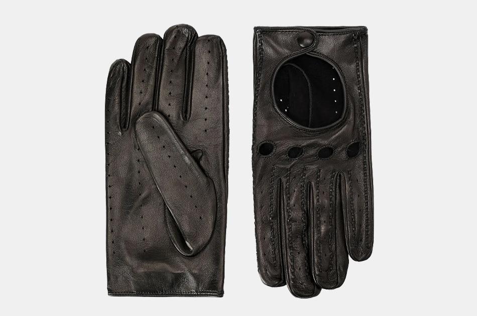 Scuderia Ferrari Nappa Lambskin Driving Gloves