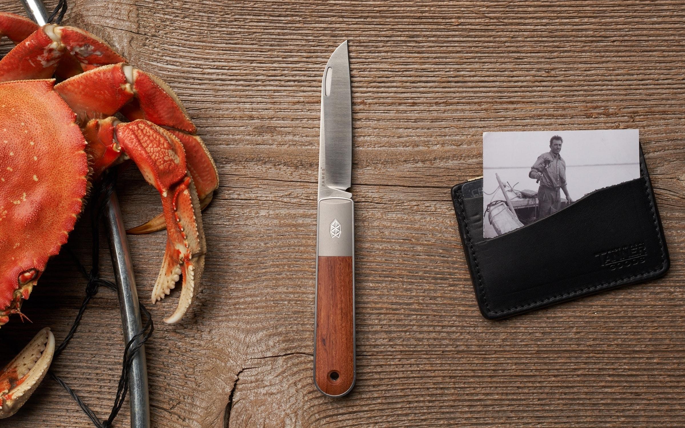 The James Brand Wayland Pocket Knife
