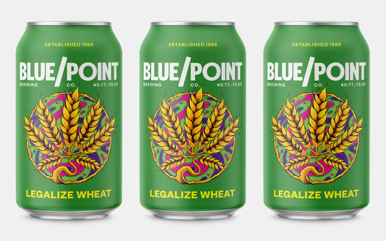 Blue Point Brewing Legalize Wheat