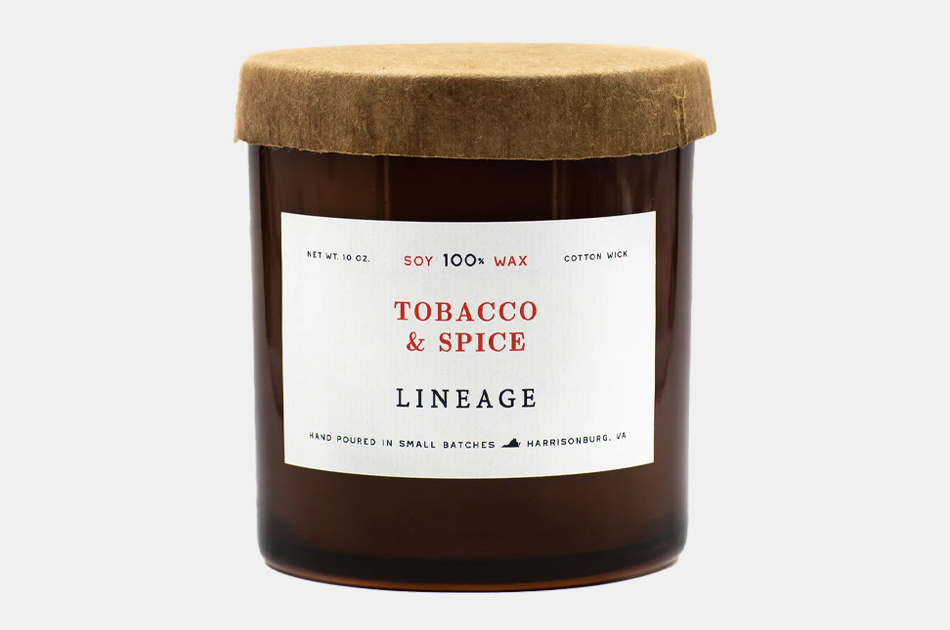 Lineage Tobacco & Spice Candle