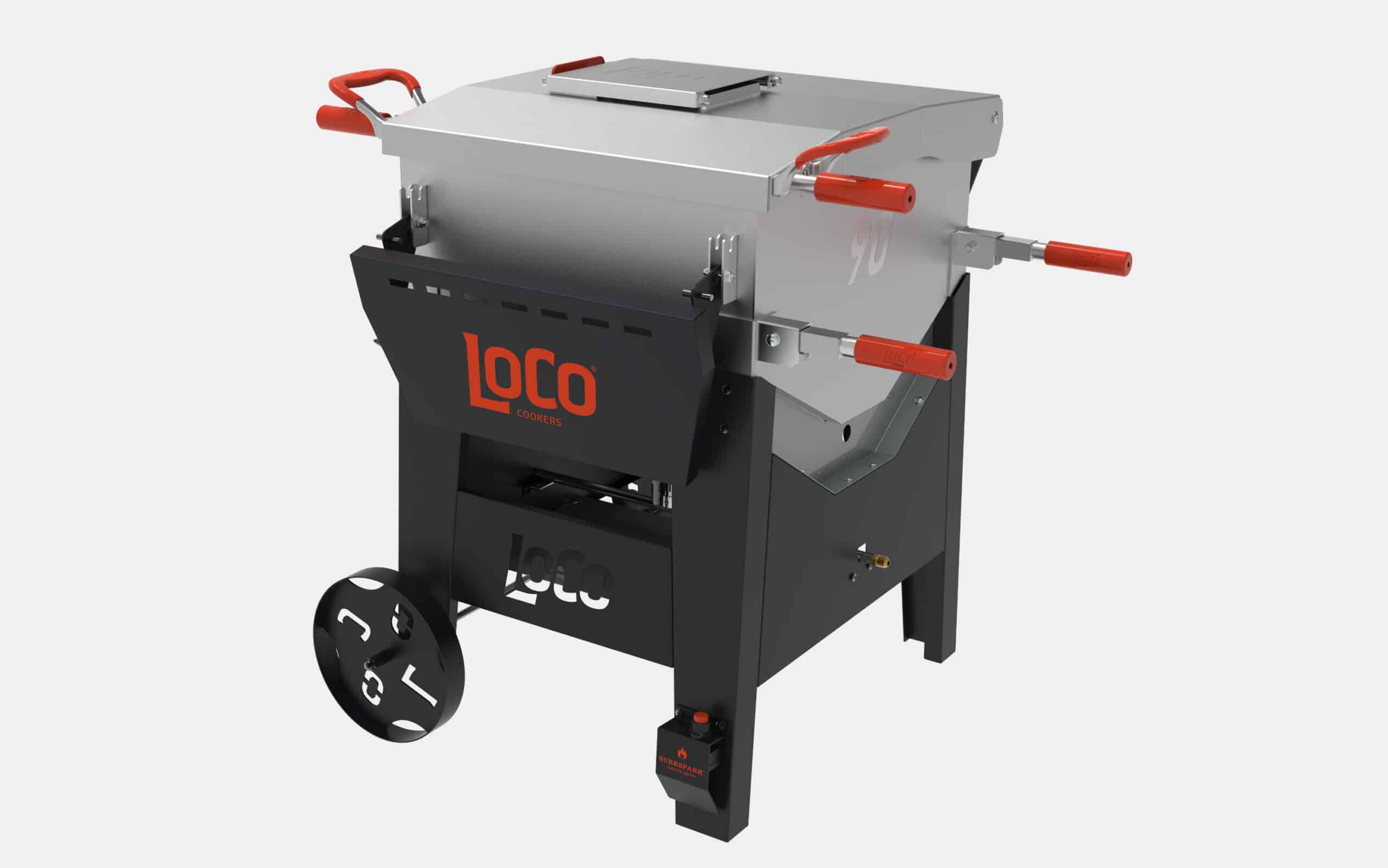 LoCo Cookers Boiler & Fryer Cart