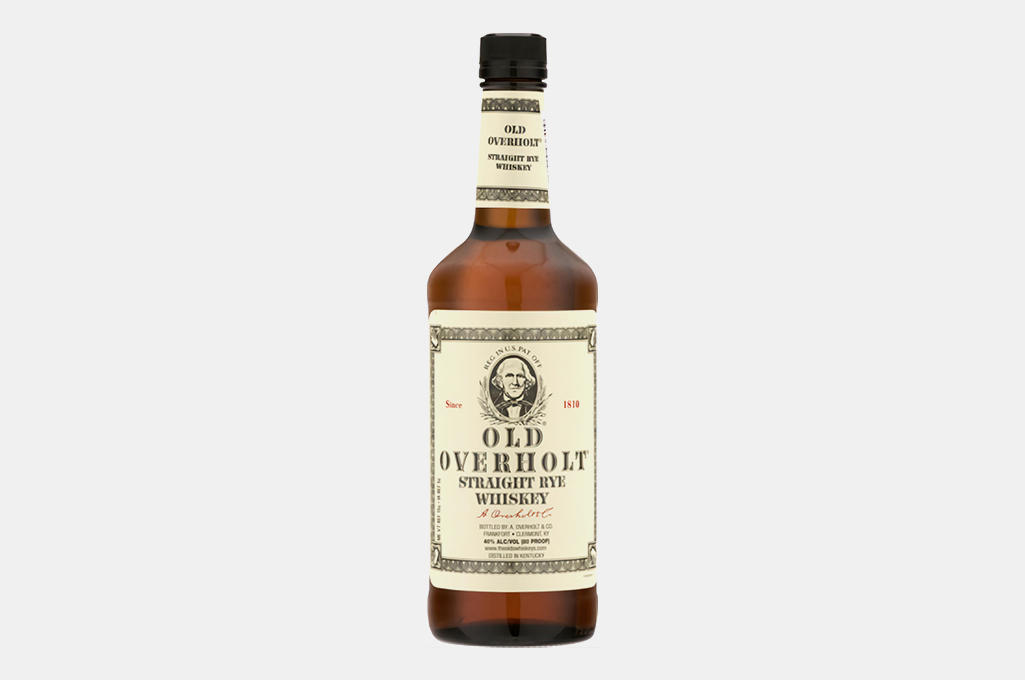 Old Overholt Bonded Rye Whiskey