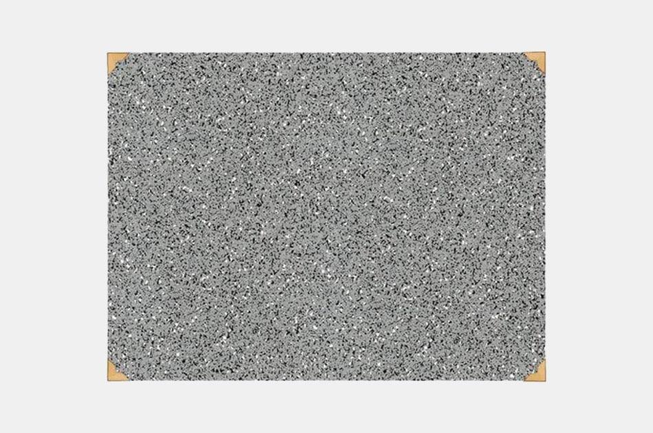 Slash Objects Rubber Gris Desk Mat