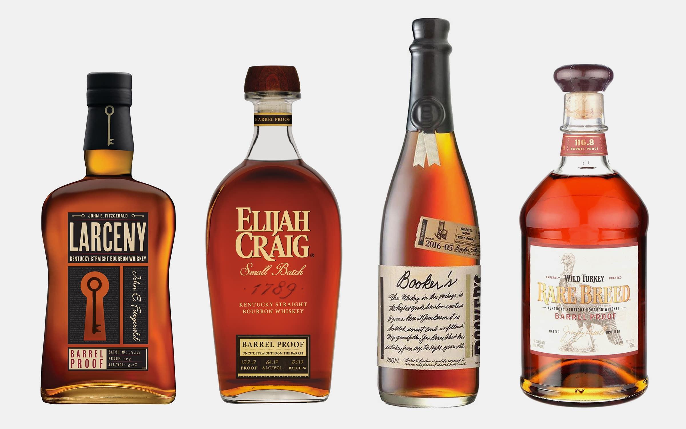 Best Barrel Proof Bourbons