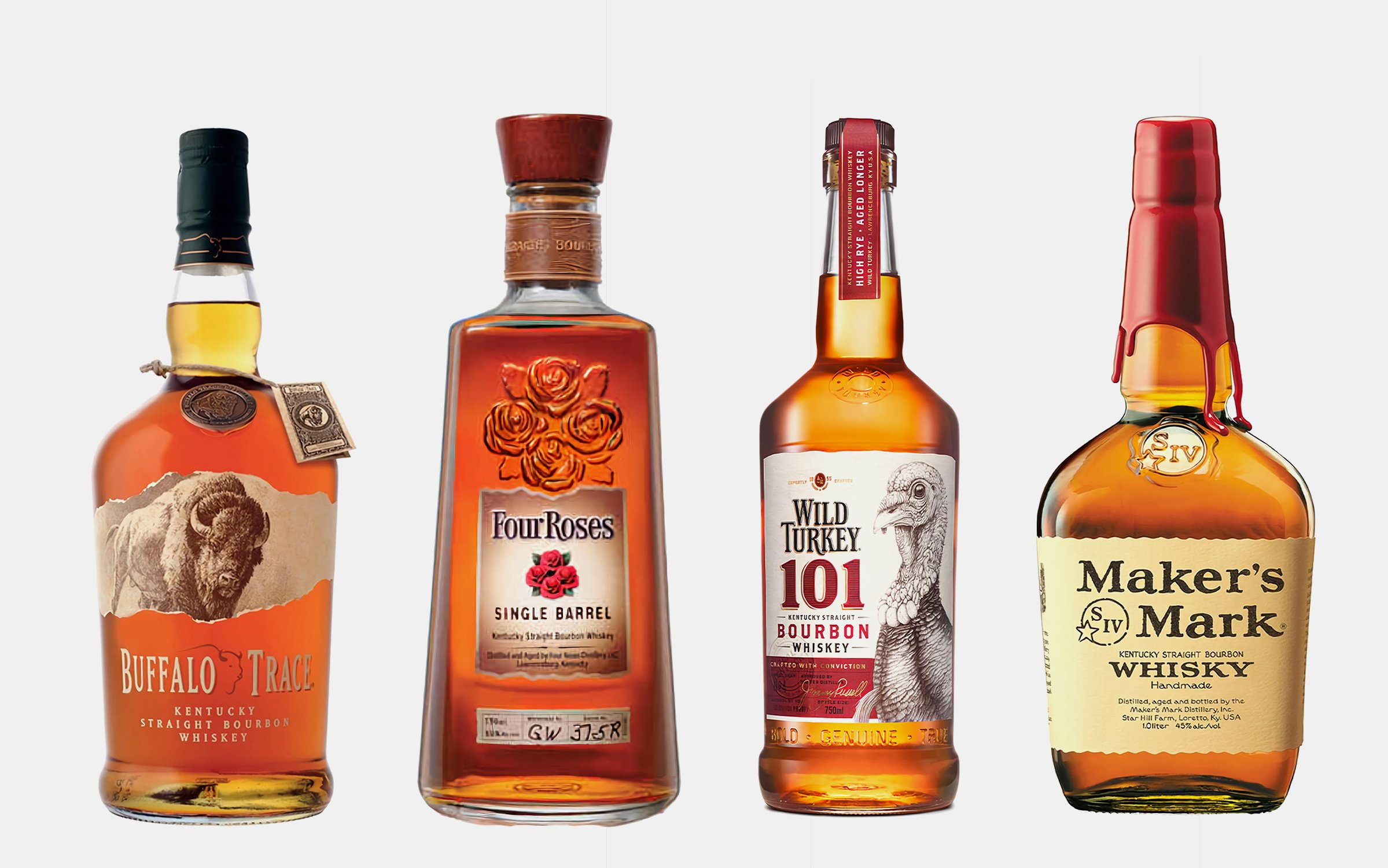 10 Bourbons Every Home Bar Cart Needs