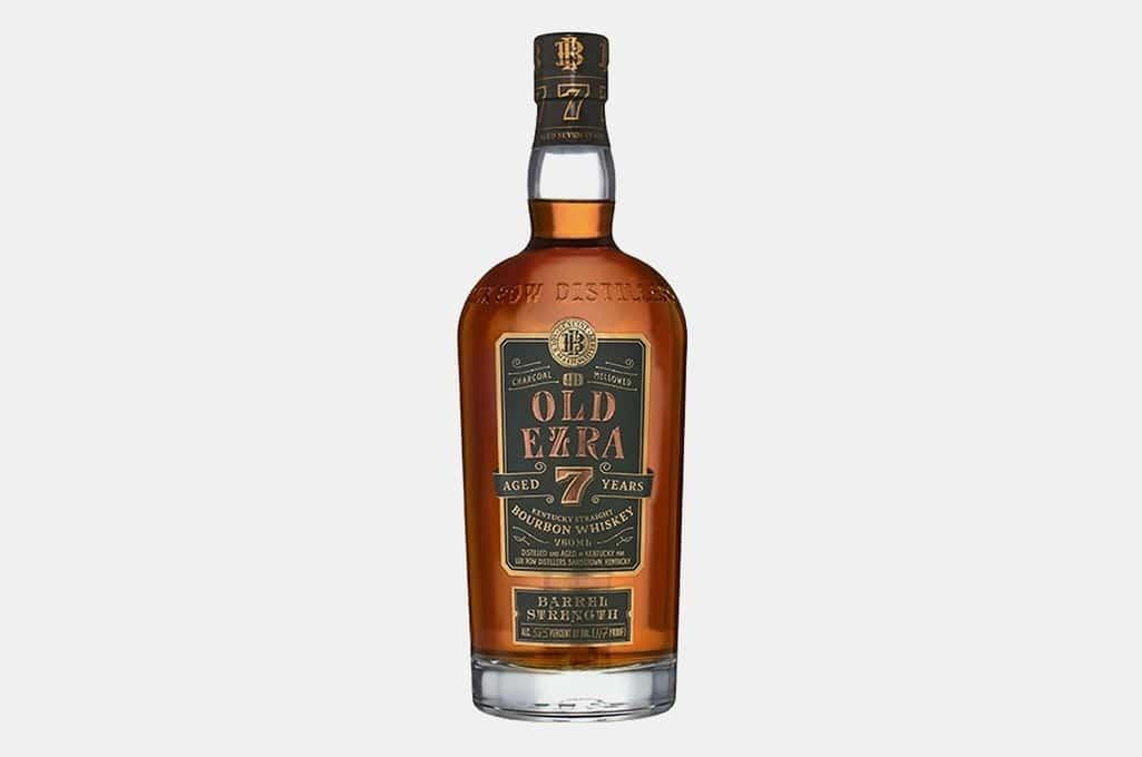Ezra Brooks Old Ezra Barrel Strength Bourbon