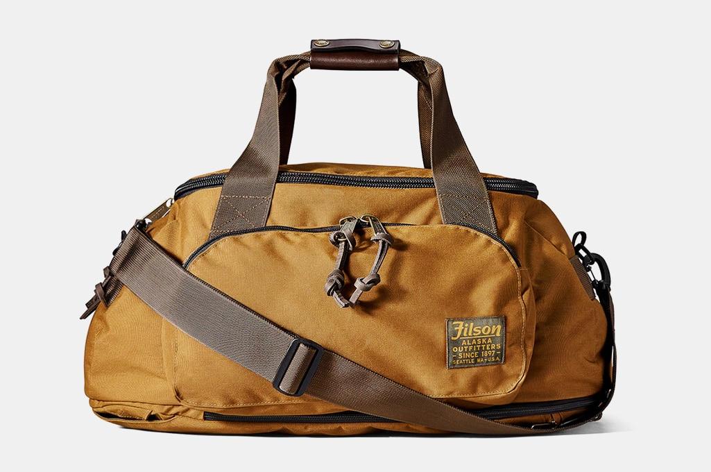 Filson Ballistic Nylon Duffel Backpack Hybrid