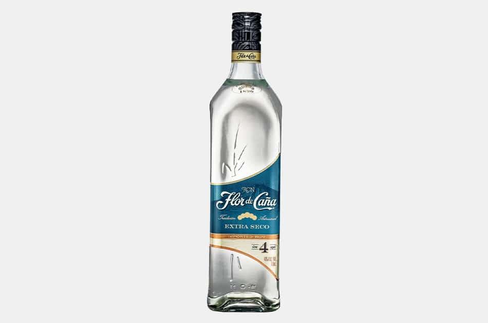 Flor De Caña Extra Seco 4 Year Rum
