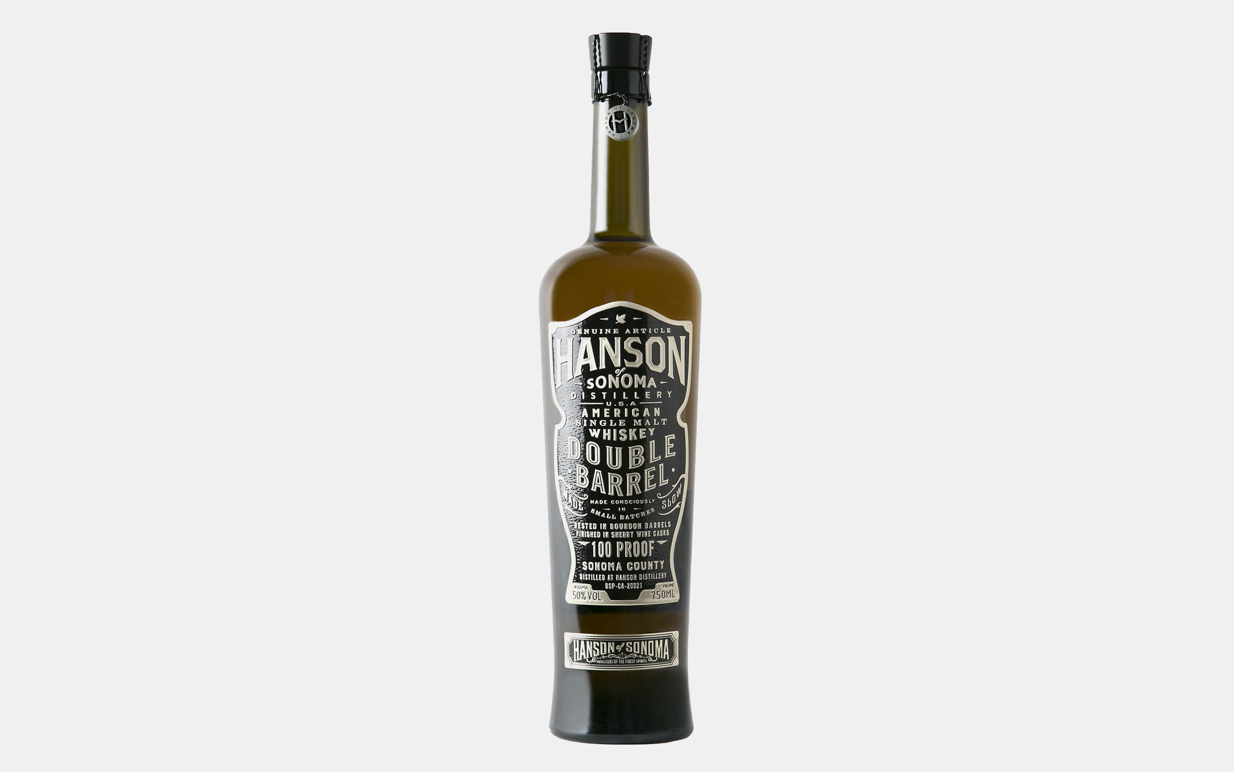 Hanson Single Malt Double Barrel Whiskey