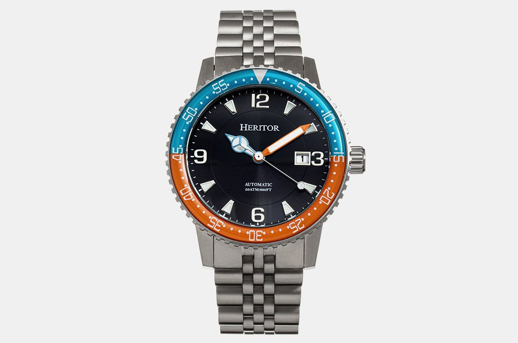 Heritor Automatic Dominic Dive Watch