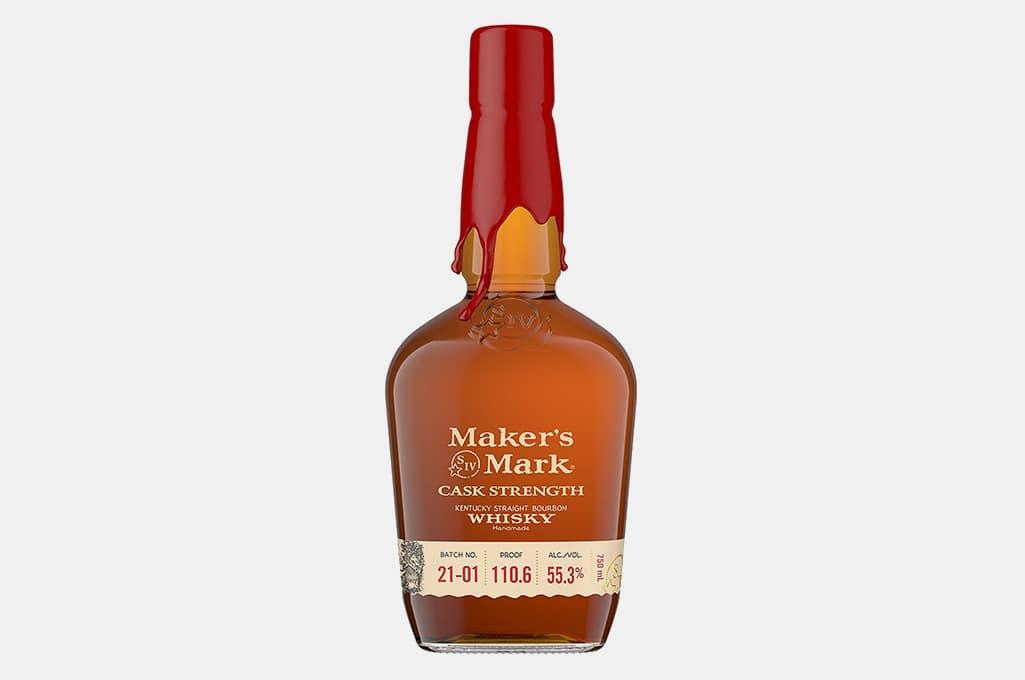 Maker's Mark Cask Strength Bourbon Whiskey