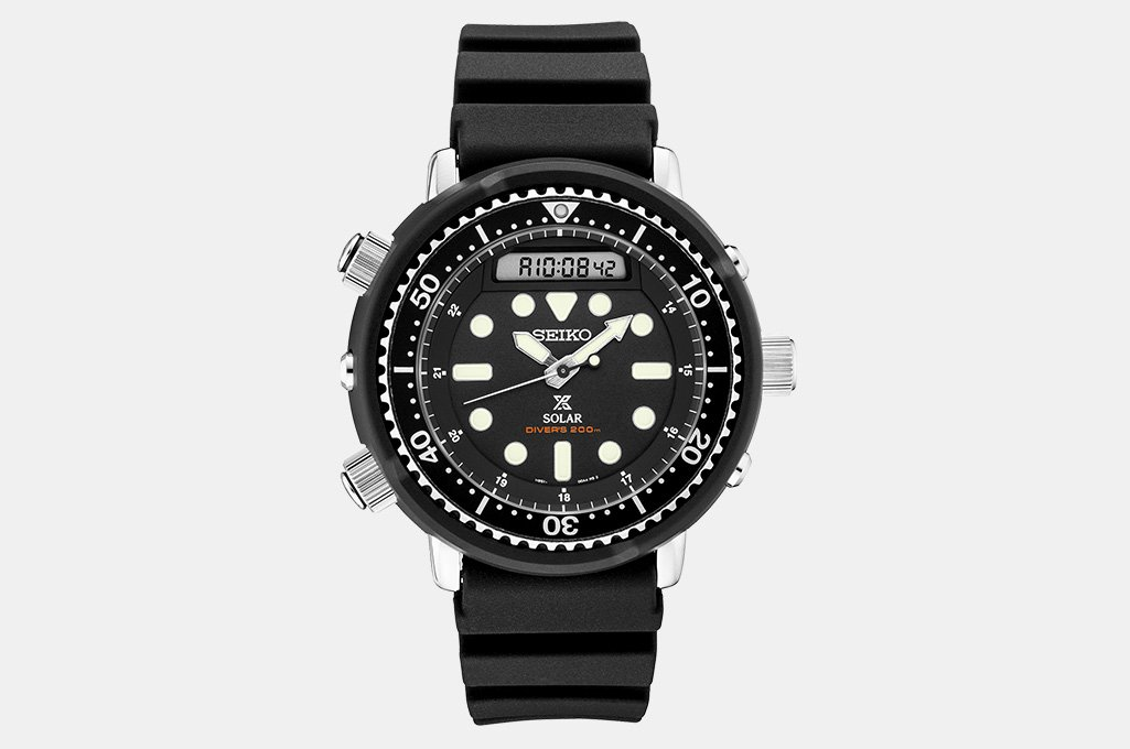 Seiko Prospex SNJ025 Solar Dive Watch