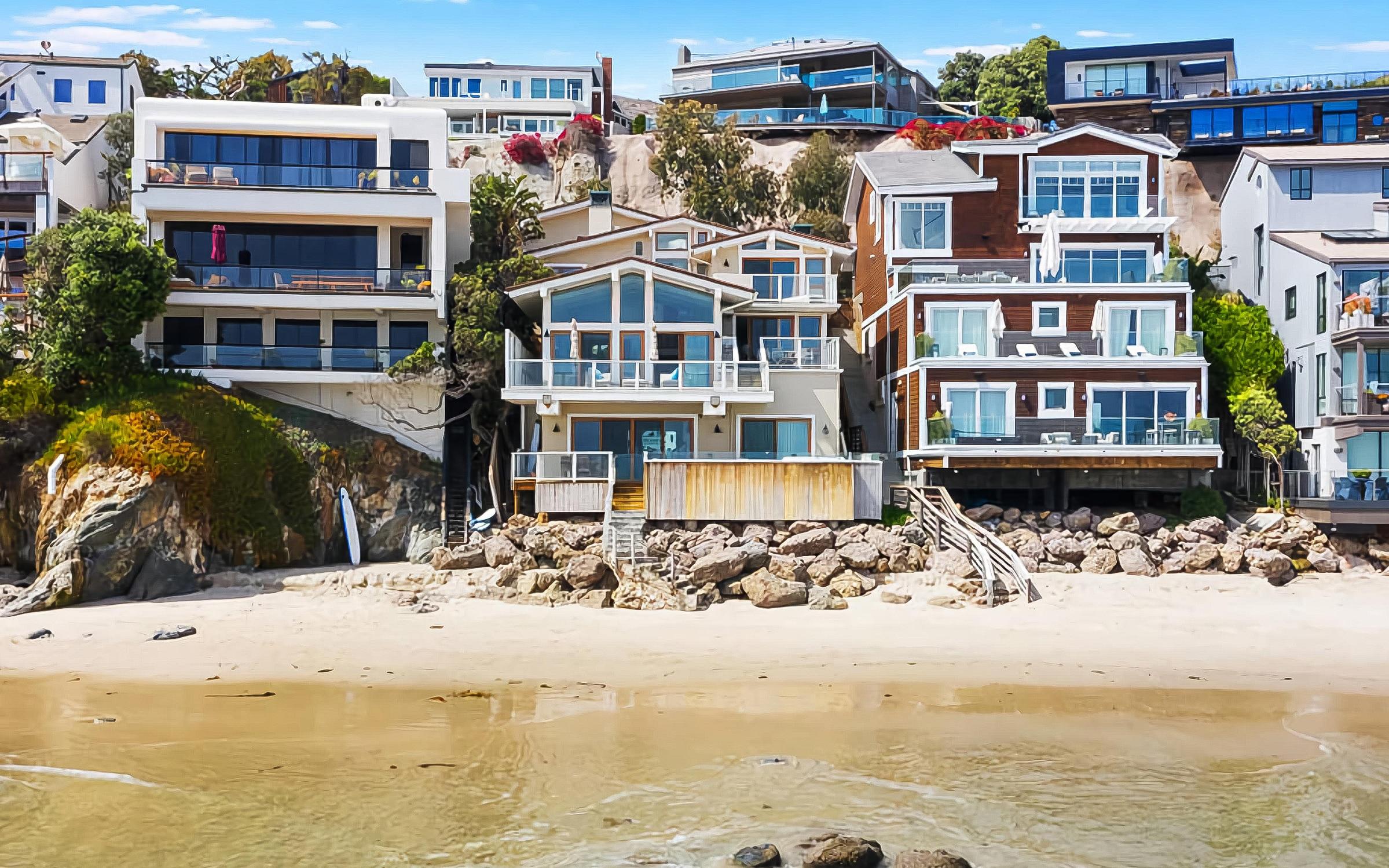 Steve McQueen's Malibu Beach House