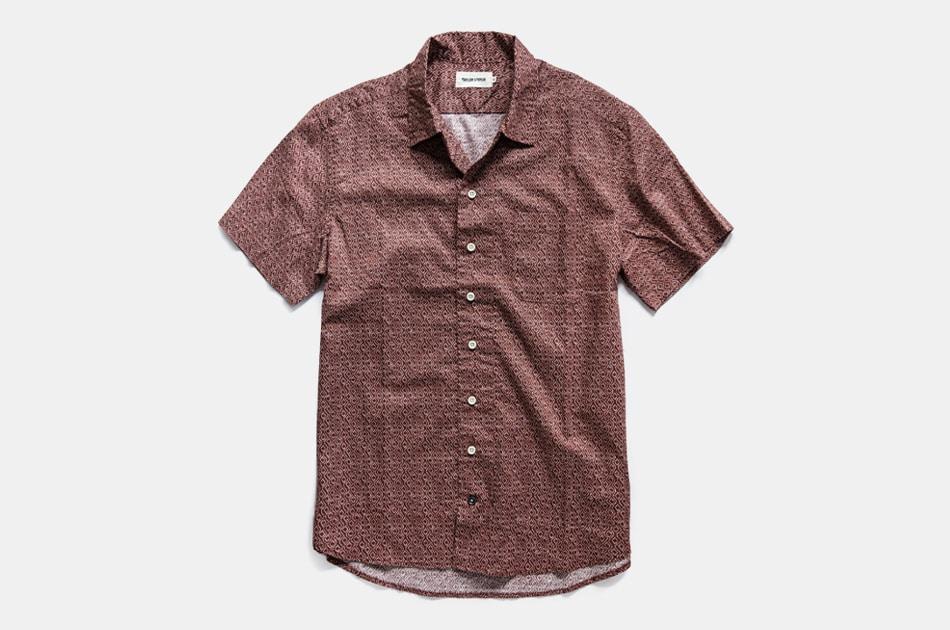 Taylor Stitch Short Sleeve Hawthorne Shirt