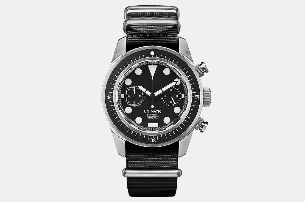 Unimatic U3-F Chrono Dive Watch