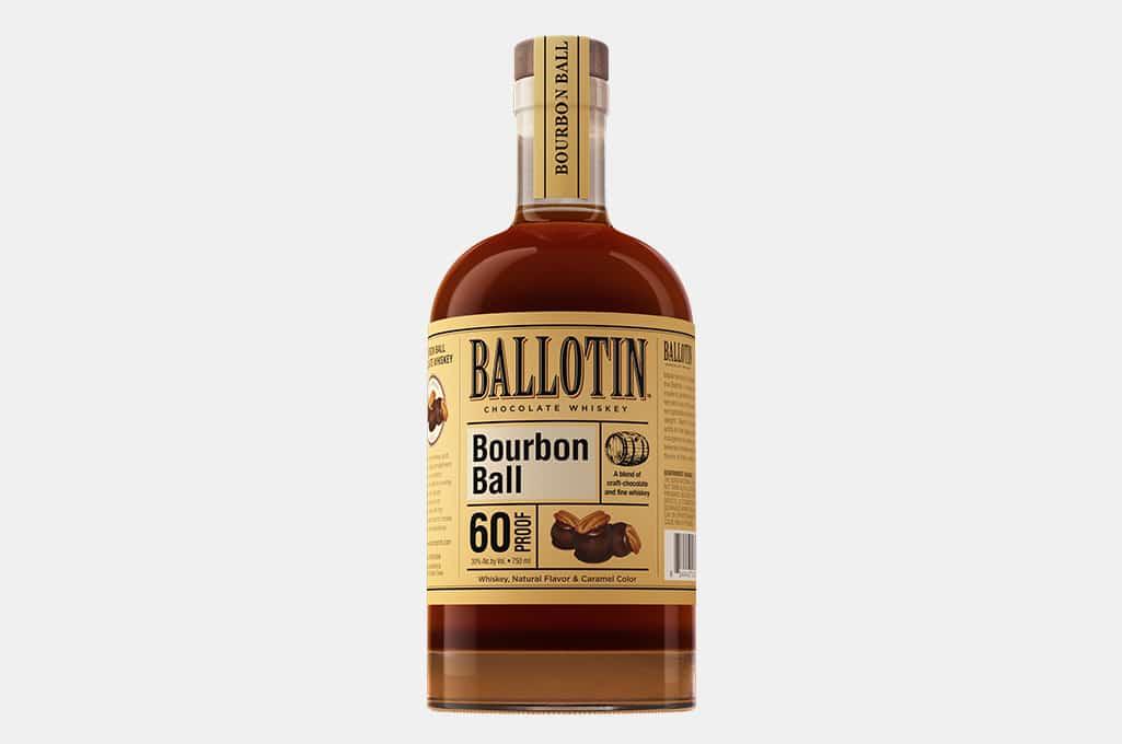 Ballotin Bourbon Ball Chocolate Whiskey