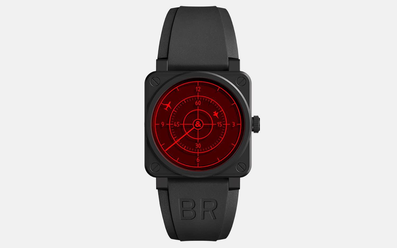 Bell & Ross BR 03-92 Red Radar Ceramic Watch