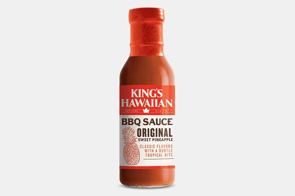 King's Hawaiian Original Sweet Pineapple BBQ Sauce