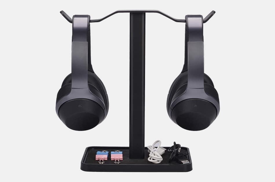 Neeto Dual Headphones Stand