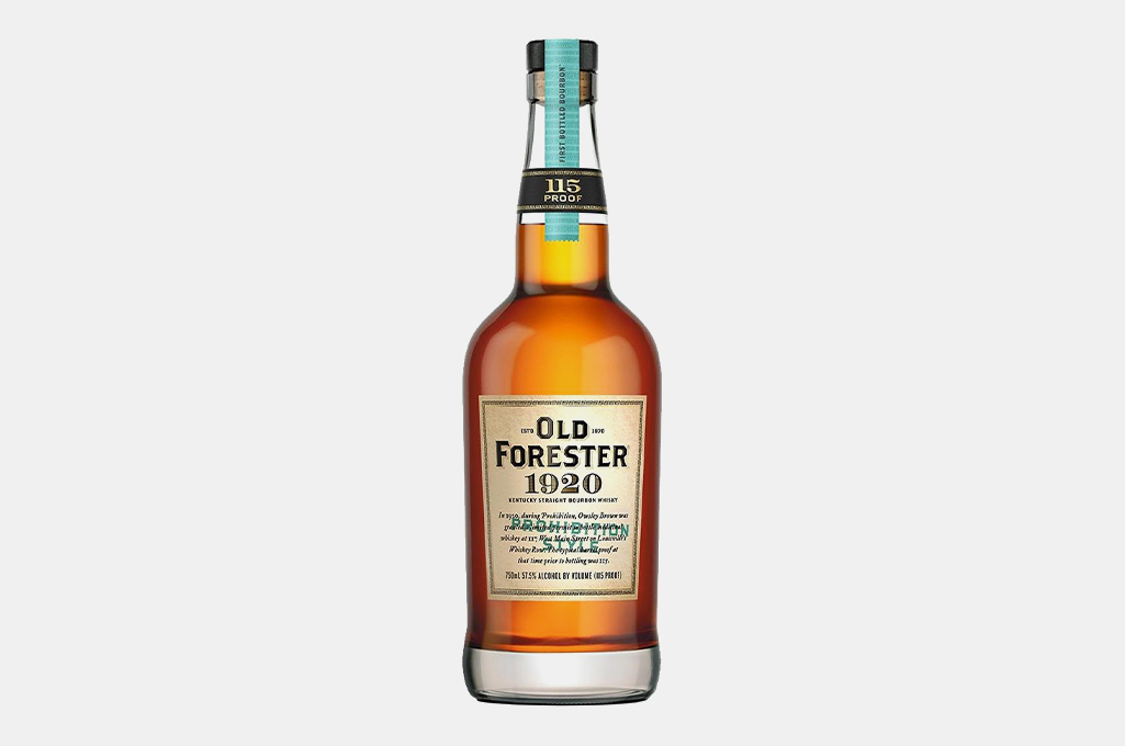 """Old Forester 1920 """"Prohibition Style"""" Bourbon"""