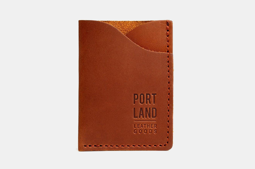 Portland Leather Almost Perfect Minimalist Card Wallet