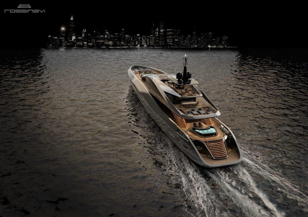 Rossinavi x Pininfarina Super Sport 65 Yacht