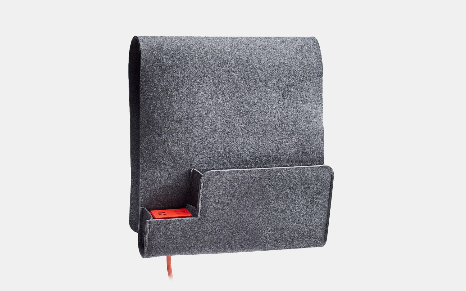 Sidekick Sofa Caddy With Outlet