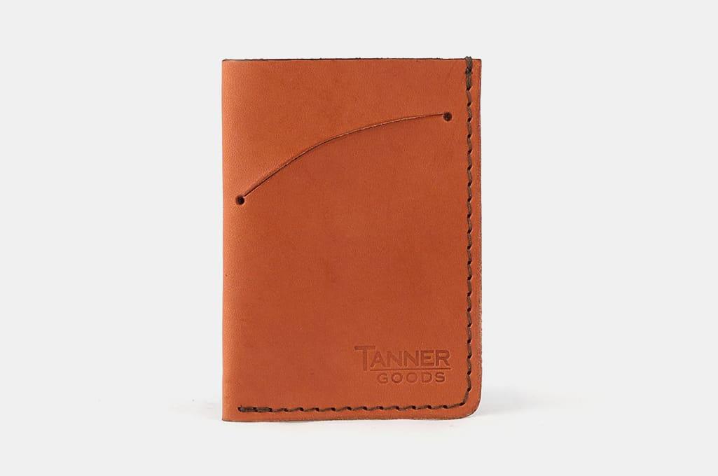 Tanner Goods Minimal Card Holder Wallet