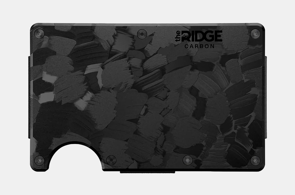 The Ridge Forged Carbon Wallet
