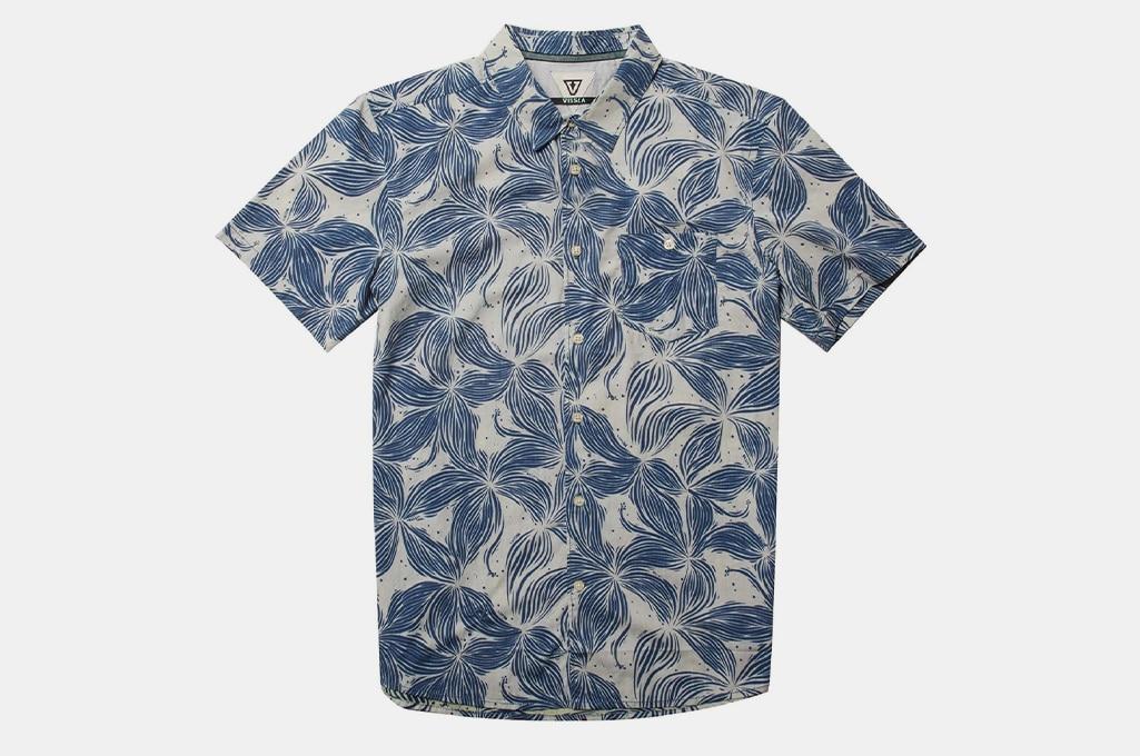 VISSLA Plumerias Eco Woven Shirt