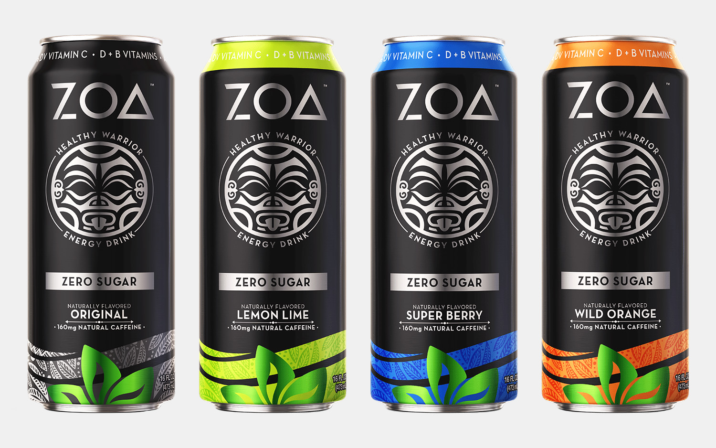 ZOA Zero Sugar Energy Drinks