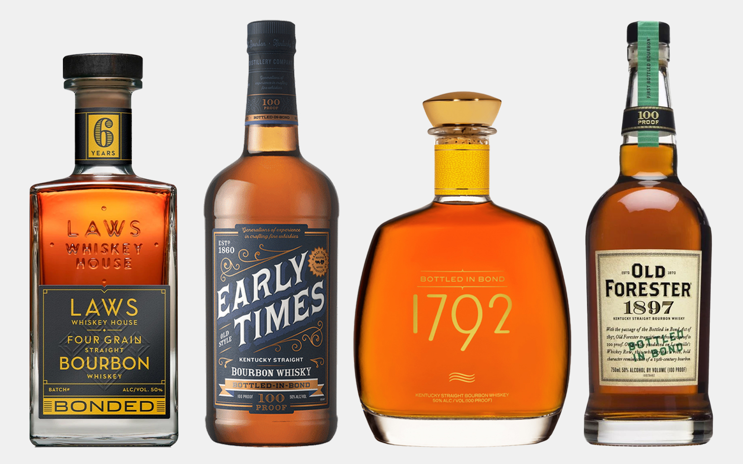 12 Bottled in Bond Bourbons To Give Your Summer an Extra Edge