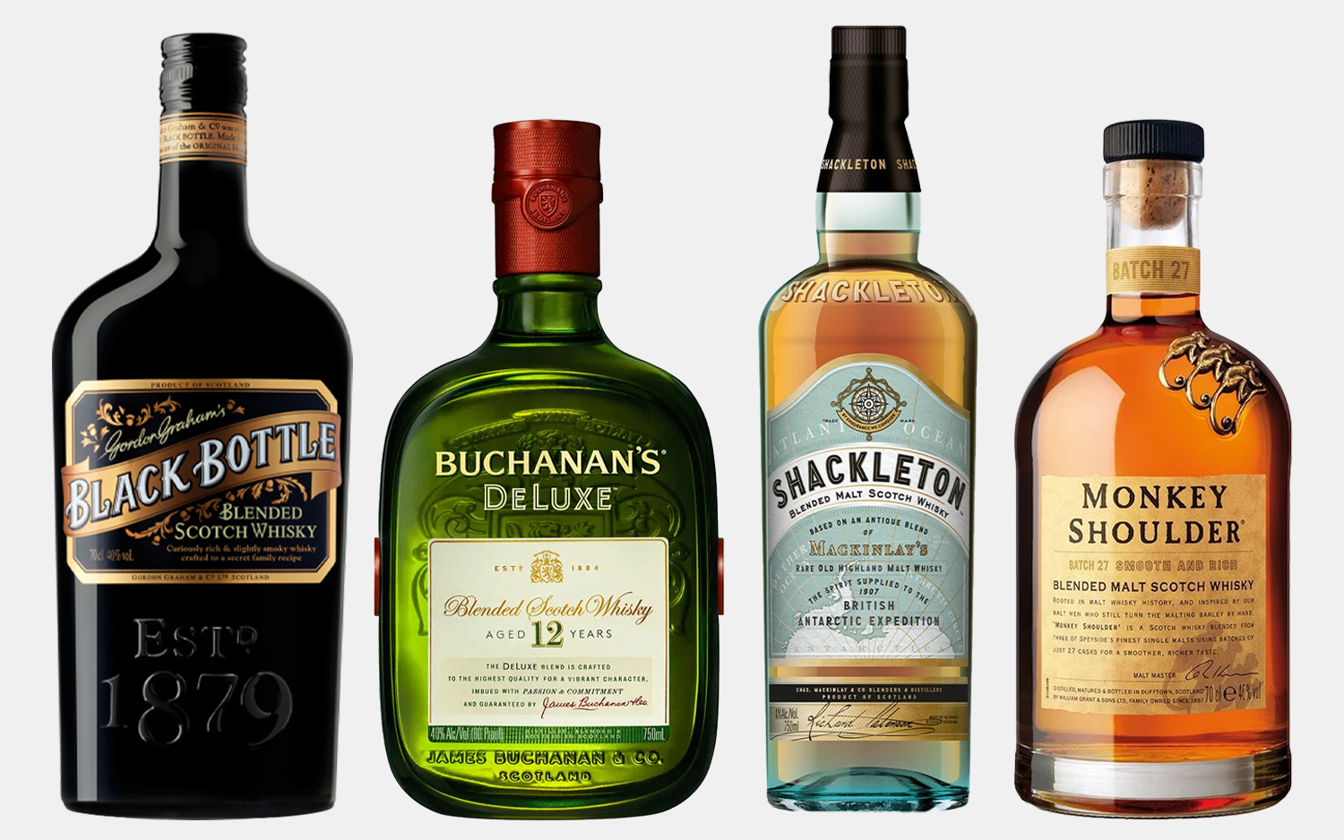 15 Blended Scotch Whiskies Perfect for Mixing