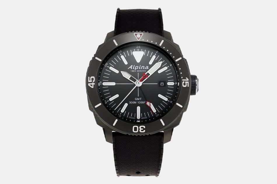 Alpina Seastrong Diver 300 GMT Quartz