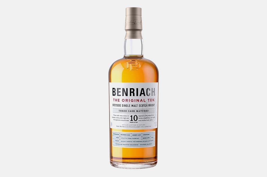 """Benriach """"The Original Ten"""" Single Malt Scotch"""