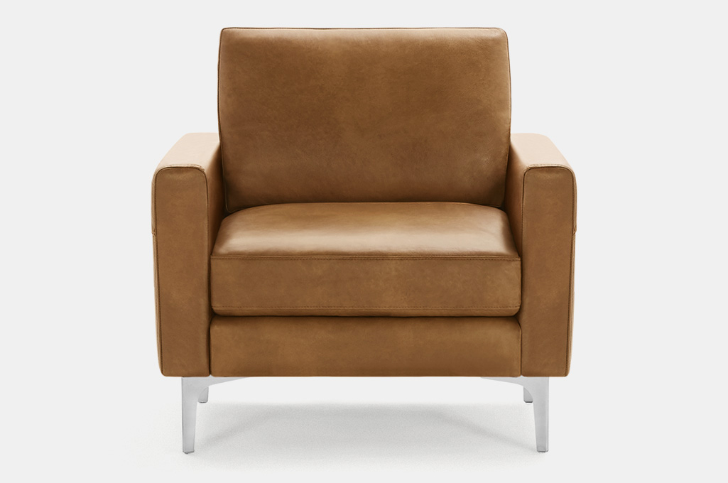 Burrow Nomad Leather Chair