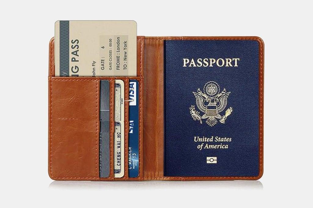 Epicgadget Passport Holder Travel Wallet