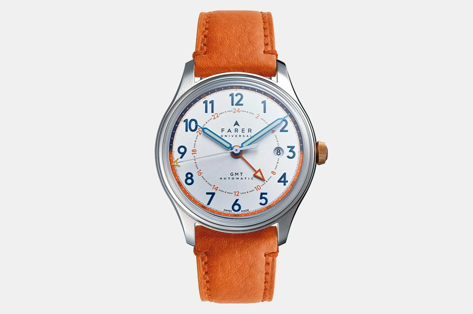 Farer Pointing GMT Watch