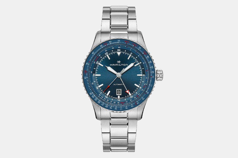 Hamilton Khaki Aviation Converter Auto GMT Watch