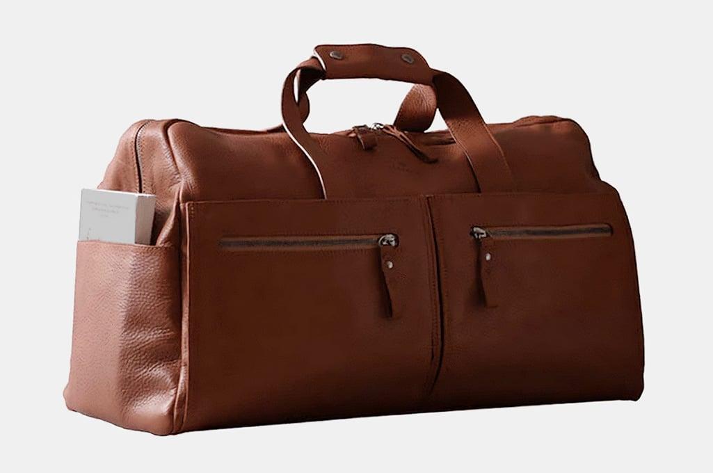 Harber Leather Weekender Bag