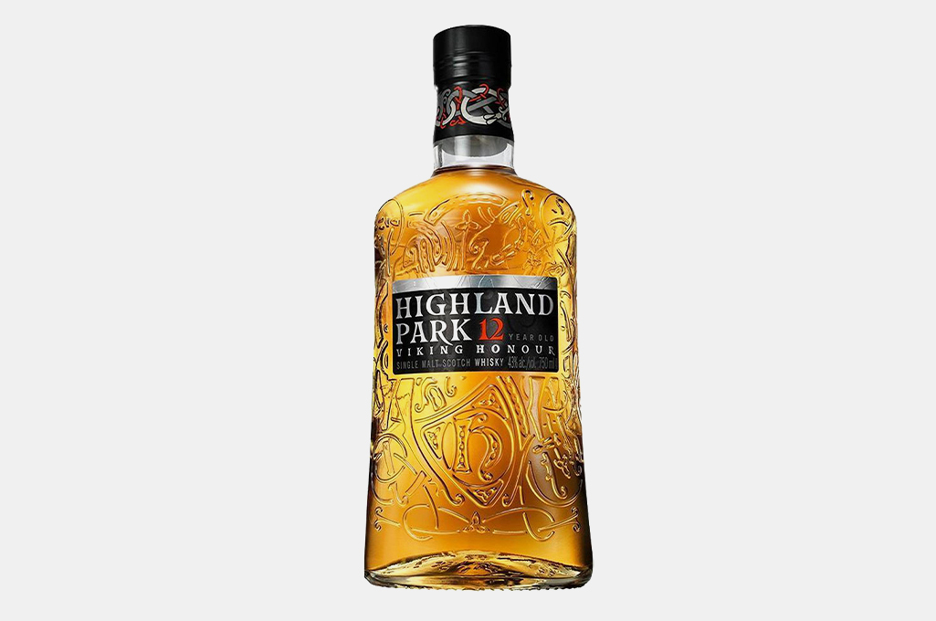 Highland Park 12 Year Old Scotch