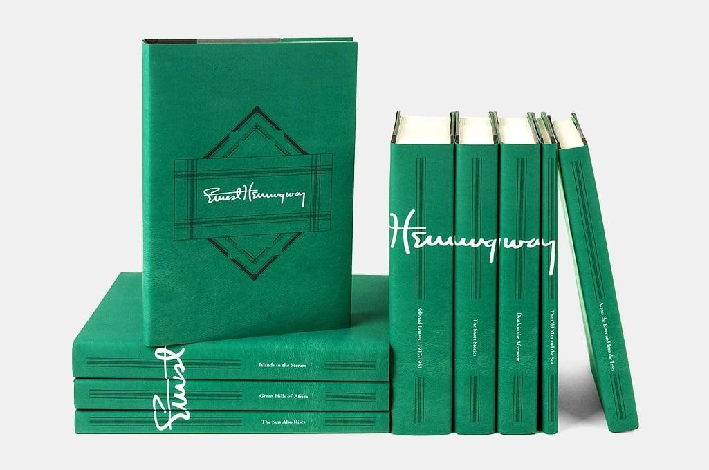 Juniper Books Ernest Hemingway Signature Set