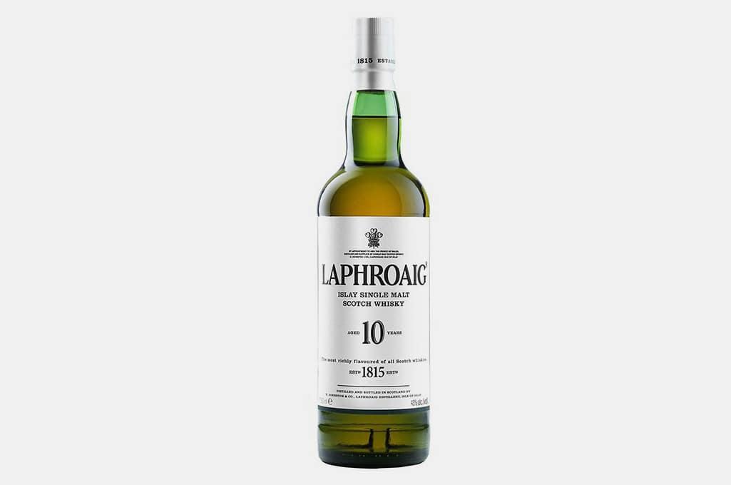 Laphroaig 10 Year Old Islay Single Malt Scotch