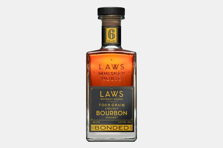 Laws Four Grain Straight Bourbon Bonded Bourbon