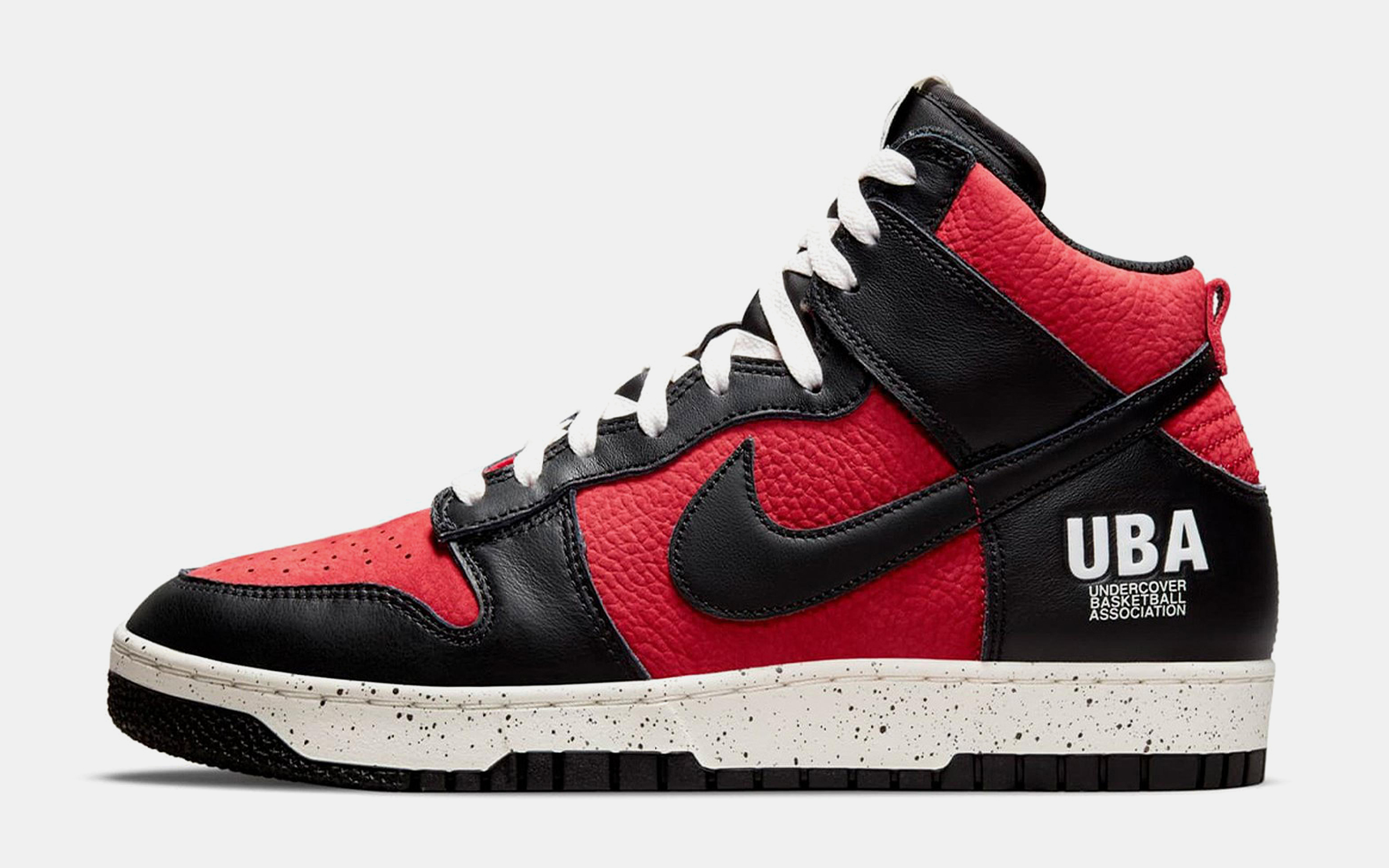 Nike Dunk High 1985 x UNDERCOVER Gym Red Sneaker